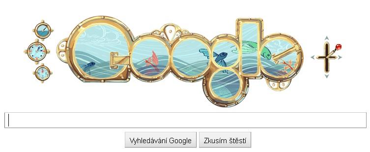 Logo Google dne 8.2.2011